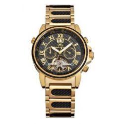 Roebelin & Graef Herrenuhr Karthago Special Edition Carbon gold matt Automatikwerk RG 606624-44