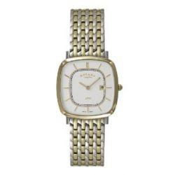 Rotary Herren-Armbanduhr Ultra Slim Analog Quarz Edelstahl beschichtet GB08101/02-Ultra Slim