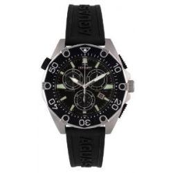 Rotary Aquaspeed Herren-Armbanduhr Aquaspeed Chronograph schwarz AGS00036/C/04