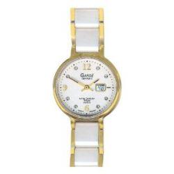 Gardé Uhren aus Ruhla Damenfunkuhr Funkuhr Keramik /Titan / Saphirglas 24-7C