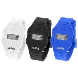 Rubz Unisex-Armbanduhr Digital mehrfarbig RUB101