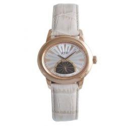 RSW Damen-Armbanduhr Consort Analog Leder 6140.PP.L5.5.00
