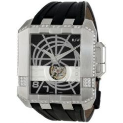 RSW Herren-Armbanduhr XL Crossroads Analog Automatik Leder 7110.MS.V1.1.D1