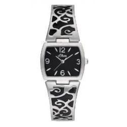 s.Oliver Damen-Armbanduhr SO-1879-MQ