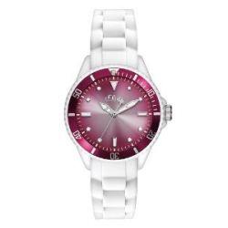 s.Oliver Damen-Armbanduhr XS Analog Quarz Silikon SO-2705-PQ