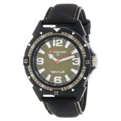 Sector Herren-Armbanduhr XL Expander 90 Analog Textil R3251197003