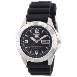 Seiko Herren-Armbanduhr XL Seiko 5 Analog Automatik Plastik SNZD23K1