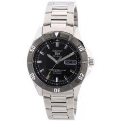Seiko Herren-Armbanduhr XL Seiko 5 Analog Automatik Edelstahl SNZD13K1