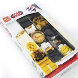 LEGO Star Wars Armbanduhr Kinduhr Uhr C-3PO mit LEGO Star Wars Minifigur