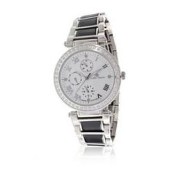 Stella Maris Damen-Armbanduhr Diamond Collection Analog Quarz Keramik ST13H06