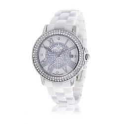 Stella Maris Damen-Armbanduhr Diamond Collection Analog Quarz Keramik STM13G401