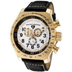 Swiss Legend Herren-Armbanduhr Quarz Schwarz SL-22828-YG-02