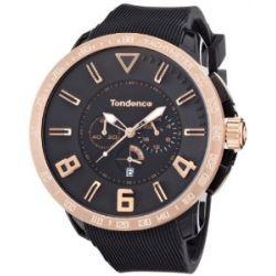 TENDENCE Unisex-Armbanduhr GULLIVER SPORT Analog plastik schwarz TT560001