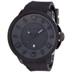 TENDENCE Unisex-Armbanduhr GULLIVER SPORT Analog Plastik Schwarz TT530004