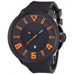 TENDENCE Unisex-Armbanduhr GULLIVER SPORT Analog Kunststoff schwarz TT530003