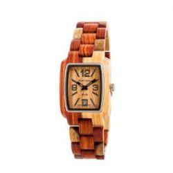 TENSE Herren-Armbanduhr Timber Men Holzuhr duo1 J8102I