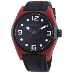 Timberland Herren-Armbanduhr XL Analog Quarz Silikon TBL.13328JPRB/02