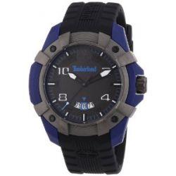 Timberland Herren-Armbanduhr XL Analog Quarz Silikon TBL.13326JPBLU/61