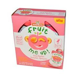 Andros Fruit Me Up!, Only Apples Peaches Apricots, 4 Pouches, 4 oz (113 g)