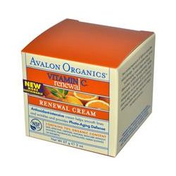 Avalon Organics, Vitamin C Renewal, Cream, 2 oz (57 g)