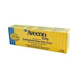 Aveeno, Baby, Soothing Relief Diaper Rash Cream, Fragrance Free, 3.7 oz (105 g)