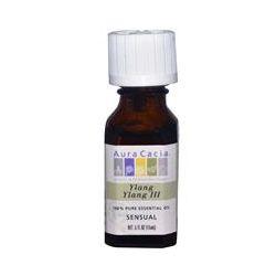 Aura Cacia, 100% Pure Essential Oil, Ylang Ylang III, Sensual, .5 fl oz (15 ml)