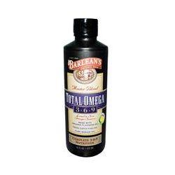 Barlean's, Master Blend, Total Omega Supplement 3 · 6 · 9, Lemonade Flavor, 16 fl oz (473 ml)