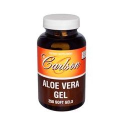 Carlson Labs, Aloe Vera Gel, 250 Softgels