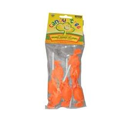 Candy Tree, Organic Orange Lollipops, 2.4 oz (70 g)