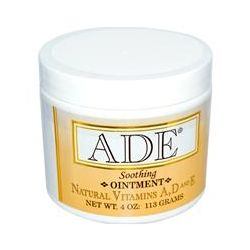 Carlson Labs, ADE, Soothing Ointment, 4 oz (113 g)