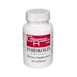 Cardiovascular Research Ltd., Forskolin (Coleus Forskohlii), 60 Capsules