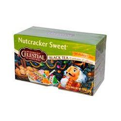 Celestial Seasonings, Black Tea, Nutcracker Sweet, Contains Caffeine, Holiday Tea, 20 Tea Bags, 1.3 oz (37 g)