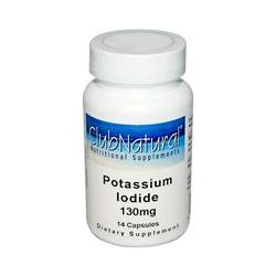 Club Natural, Potassium Iodide, 130 mg, 14 Capsules