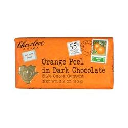 Chocolove, Orange Peel in Dark Chocolate, 3.2 oz (90 g)