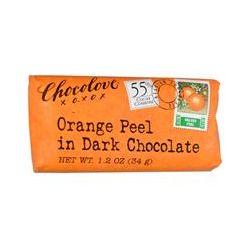 Chocolove, Orange Peel in Dark Chocolate, 1.2 oz (34 g)