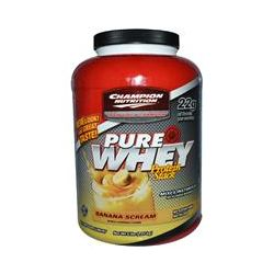 Champion Nutrition, Pure Whey Protein Stack, Banana Scream, 5 lbs (2.27 kg)