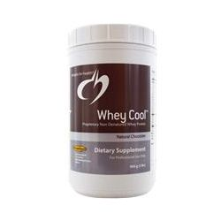 Designs For Health, Whey Cool, Proprietary Non-Denatured Whey Protein, Natural Chocolate, 2 lbs (900 g)
