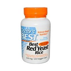 Doctor's Best, Best Red Yeast Rice, 600 mg, 120 Veggie Caps