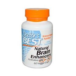 Doctor's Best, Natural Brain Enhancers, Featuring GPC & PS, 60 Veggie Caps
