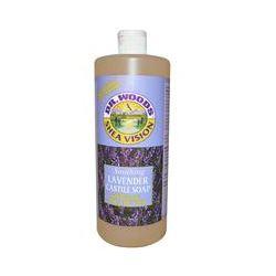 Dr. Woods, Shea Vision, Soothing Lavender Castile Soap, 32 fl oz (946 ml)