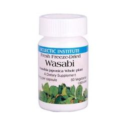 Eclectic Institute, Wasabi, 200 mg, 50 Veggie Caps
