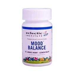 Eclectic Institute, Mood Balance, St. John's Wort - Lemon Balm, 300 mg, 45 Veggie Caps