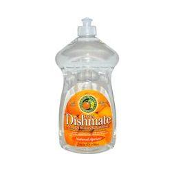 Earth Friendly Products, Ultra Dishmate, Liquid Dishwashing Cleaner, Natural Apricot, 25 fl oz (739 ml)