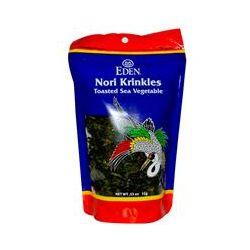 Eden Foods, Nori Krinkles, Toasted Sea Vegetable, .53 oz (15 g)
