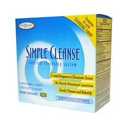 Enzymatic Therapy, Simple Cleanse, Internal Cleansing System, 2 Week Program Kit