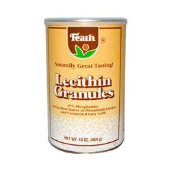Fearn Natural Food, Lecithin Granules, 16 oz (454 g)