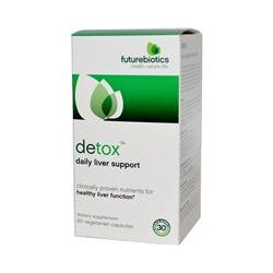 FutureBiotics, Detox, Daily Liver Support, 60 Veggie Caps