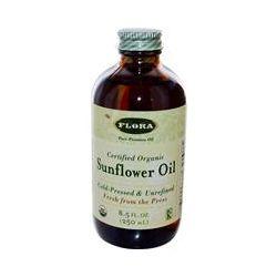 Flora, Certified Organic Sunflower Oil, 8.5 fl oz (250 ml)