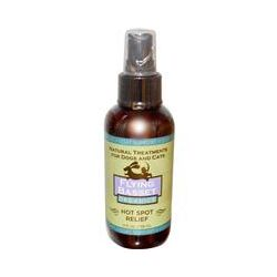Flying Basset, Organics, Hot Spot Relief for Dogs and Cats, 4 fl oz (118 ml)