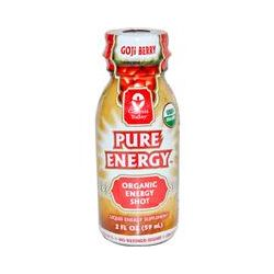 Genesis Today, Pure Energy, Organic Energy Shot, Goji Berry, 2 fl oz (59 ml)